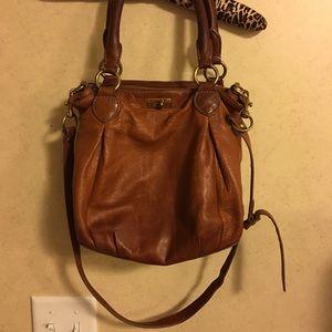J. Crew Leather Brompton Hobo Bag
